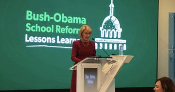 Betsy DeVos Touts Personalized Learning, Slams Common Core and Reform Efforts