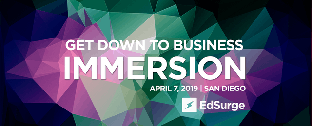 Immersion: Our Hands-on, Info-Packed Event Just for Edtech Companies
