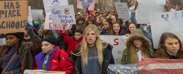 Students Find Their Voice—Online and Off—During National Walkouts