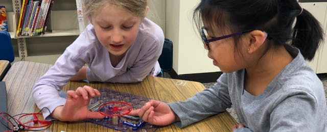 Students Step up to Lead Tech Implementation at Their Elementary School