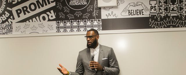 LeBron James Is Schooling Us on What Education Reform Got Wrong
