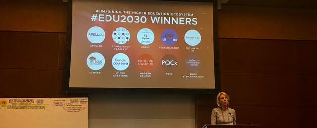 In Announcing Winners of Higher Ed Challenge, Ed Dept Looks Ahead to 2030