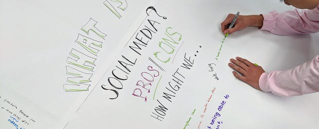 Here's What Happened When Students Solved Social Media Problems With Design Thinking