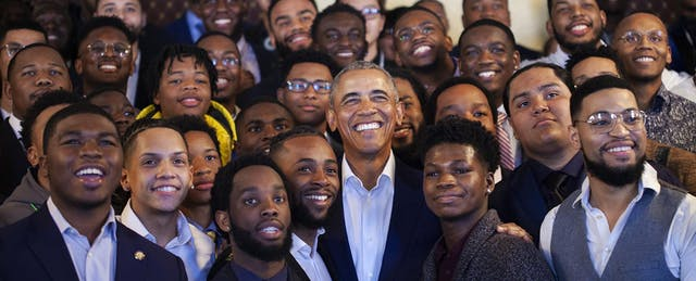Obama, Curry Call For Mentorship and Community at My Brother's Keeper Anniversary Event