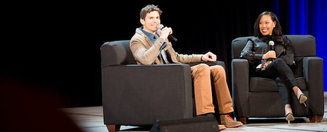 Dude, Where's My Purpose? Ashton Kutcher on Today's 'Abysmal' Schools