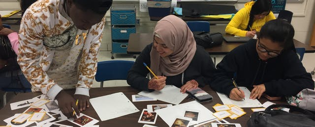Art Exhibit Lets High School Immigrants Share Stories of Hardship and Hope