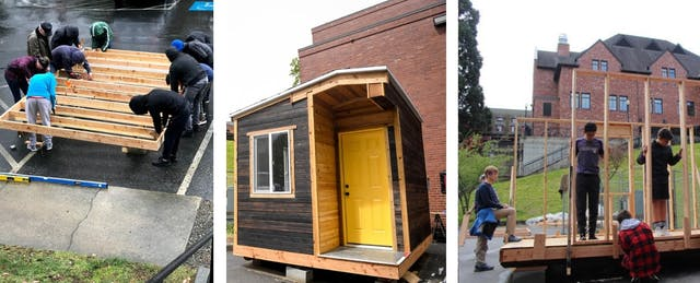 What Building a Tiny Home for the Homeless Taught My Students About Teamwork