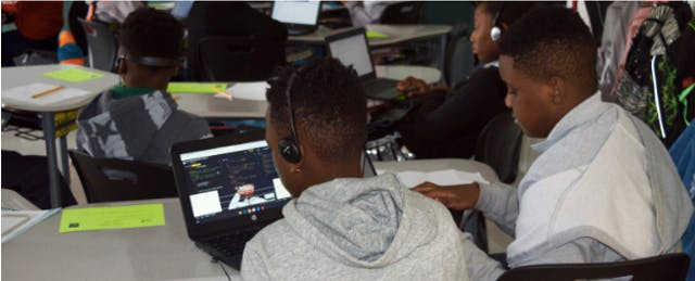 The All-Black and Latino School Where Every Kid Can Code