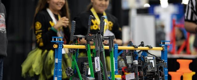How Do We Get More Girls Into STEM? Build Confidence (and Robots)