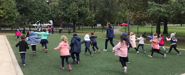 Rethinking Recess Leads to Results On and Off the Playground