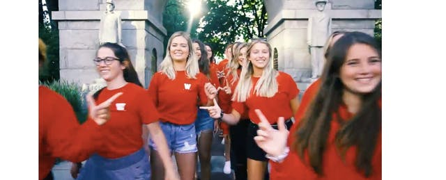 When a Homecoming Video Raises Questions About Campus Diversity