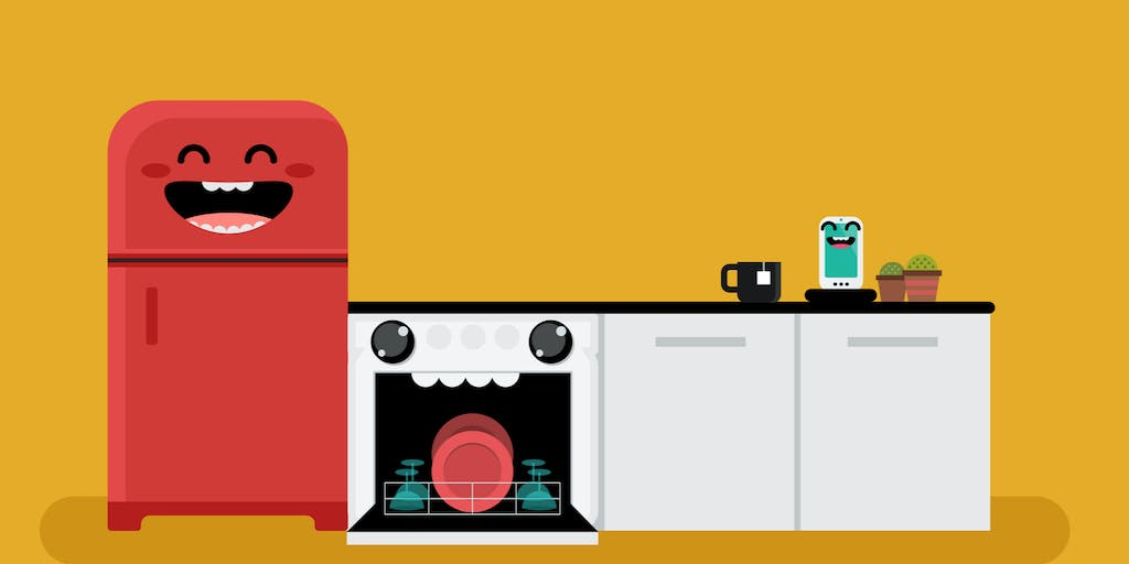 With the Internet of Things, Smart Dishwashers Can Give Kids Chores