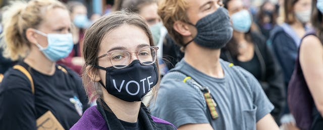 Election Organizing Went Online This Year With Help From Students Too Young to Vote