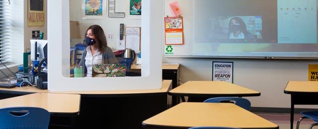 Despite Safety Assurances, School Reopenings Are Taking a Serious Toll on Teachers