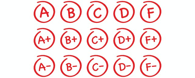 The Tyranny of Letter Grades