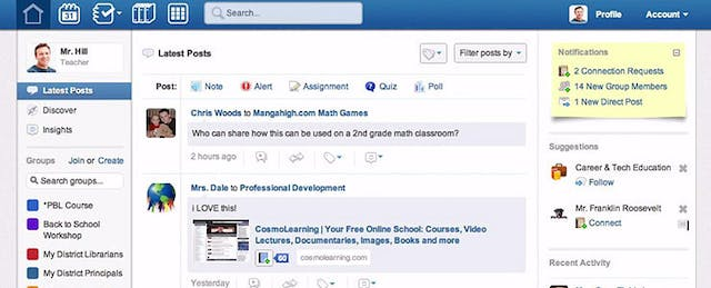 Edmodo: Fresh Look, More Social