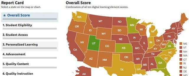 Seeking the Devil in the Details in the Digital Learning Report Card