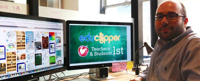 Teacherpreneur Spotlight: Adam Bellow, Former Teacher, eduClipper Founder
