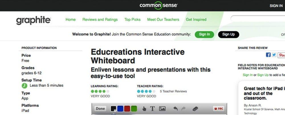 ISTE13: Common Sense Media Launches Graphite