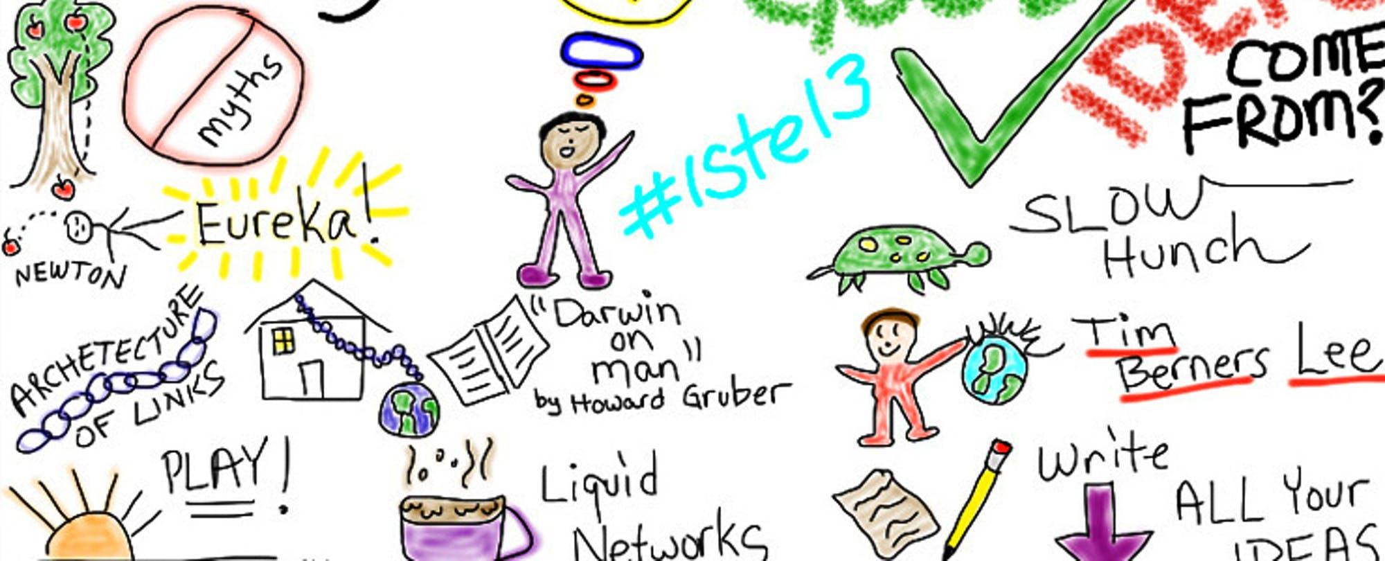 Where Good Ideas Happen: Stephen Johnson Gets Us Thinking at ISTE13