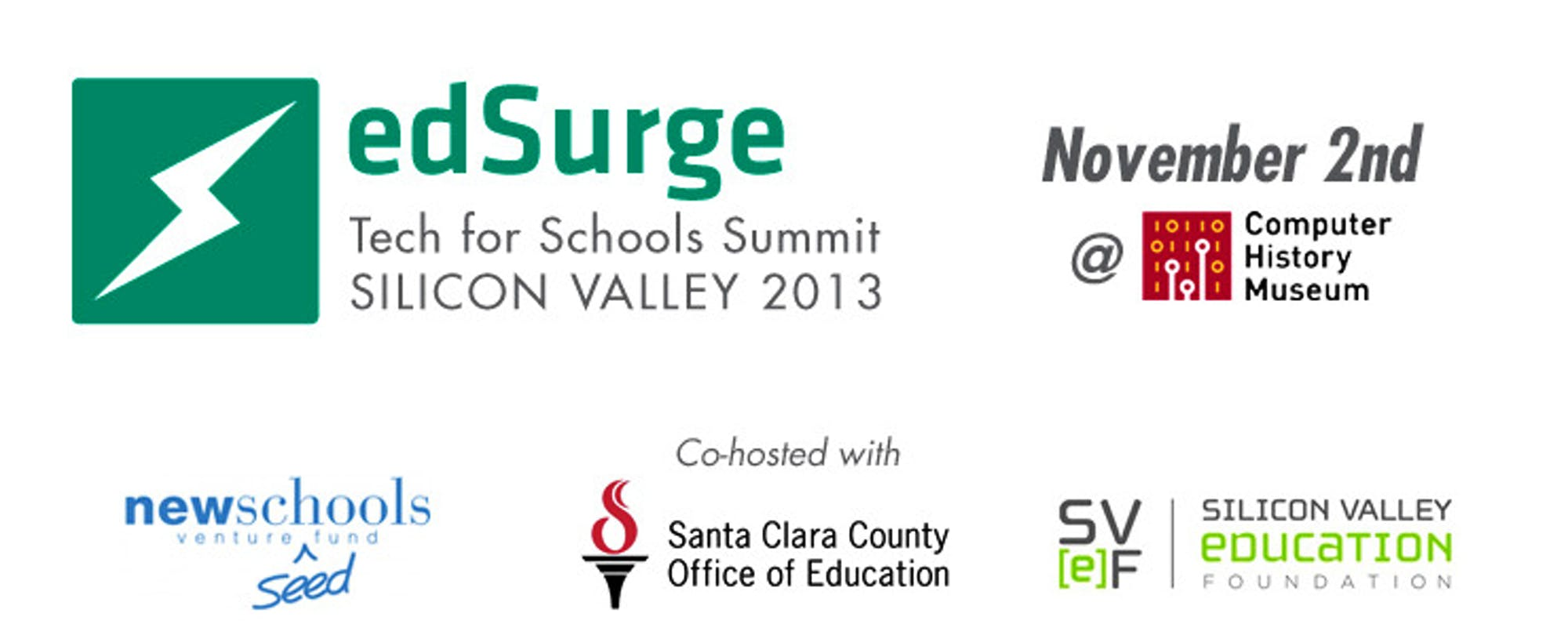 Announcing the EdSurge Tech for Schools Summit: Silicon Valley 2013