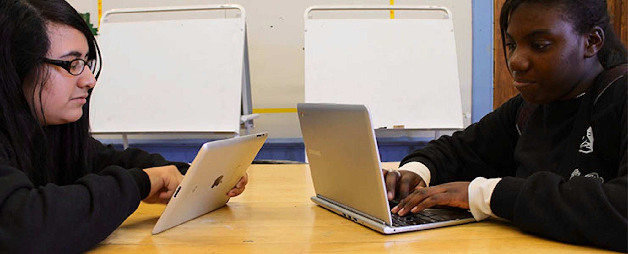 Chromebooks and iPads: Rivals No More