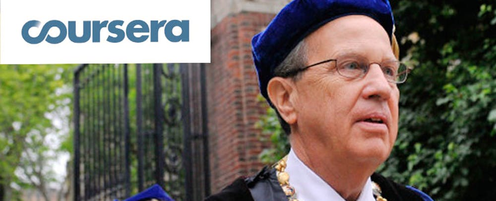 Former Yale Prez to Lead Coursera