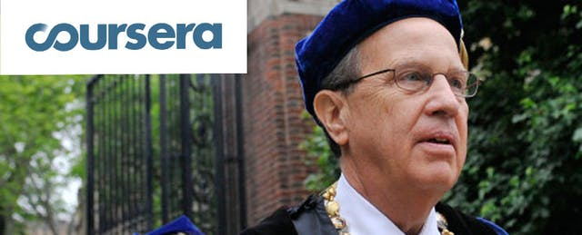 Former Yale Prez to Lead Coursera