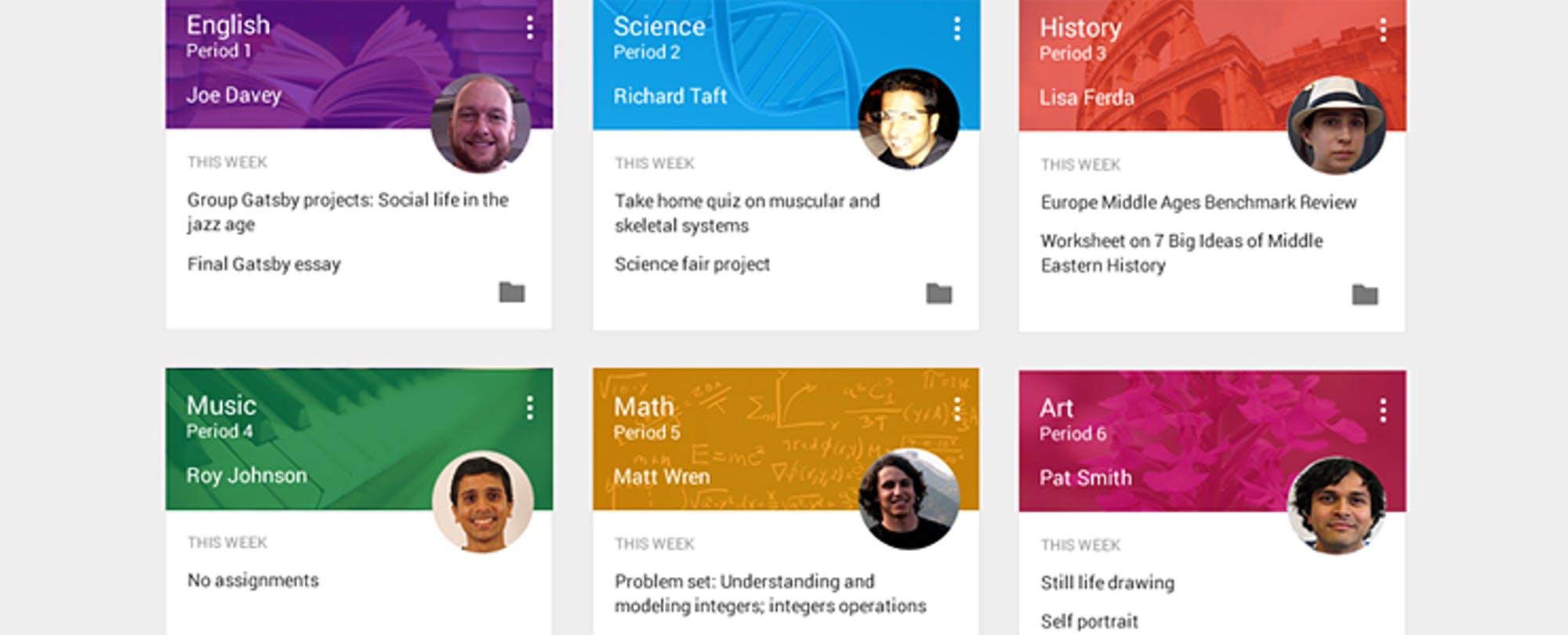 Google Announces New 'Classroom' Tools