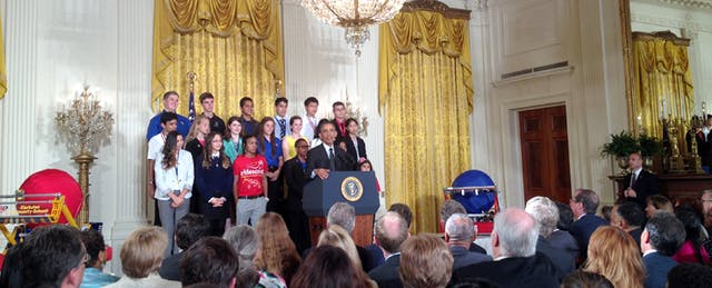 Young STEM Superstars Head to the White House