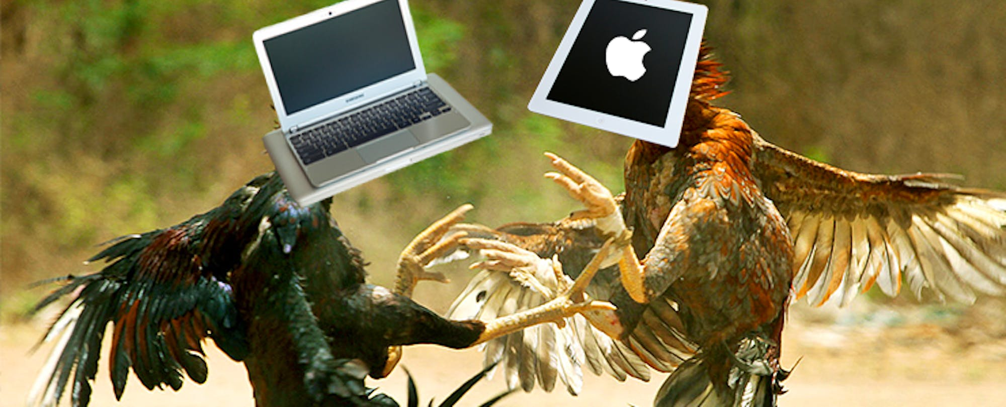 Why We Are Misunderstanding the Chromebook-iPad Debate