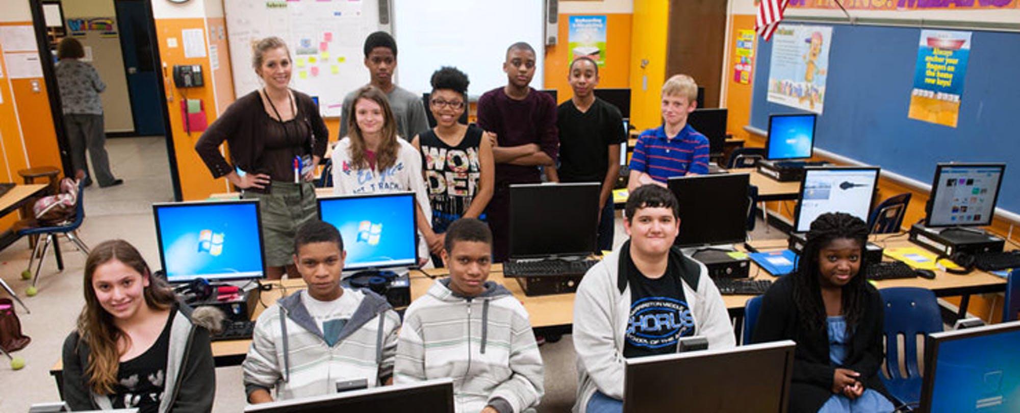 Fixing the Bugs: Teaching Kids to Code on a Zero-Dollar Budget