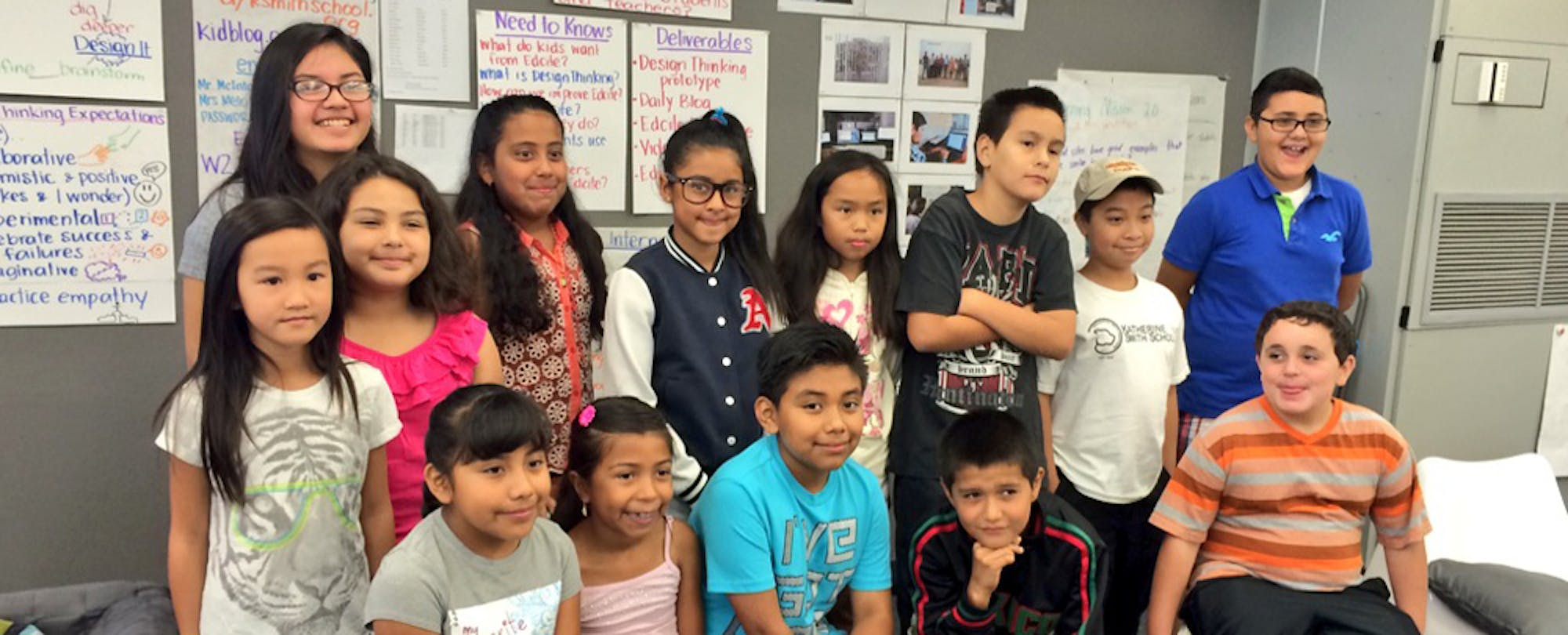 Future Bosses in the Making: A Meeting with 'Junior CEOs' at Katherine Smith Elementary