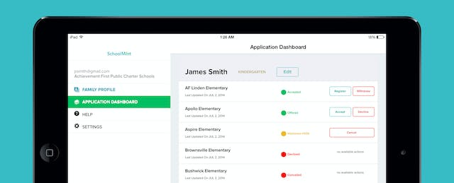 SchoolMint Raises $2.2M to Streamline School Enrollments