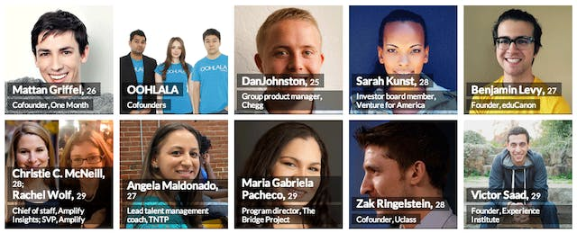 Forbes Highlights 41 Education Leaders in '30 Under 30'