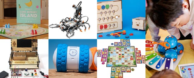 Toys for Your Family to Play with Code