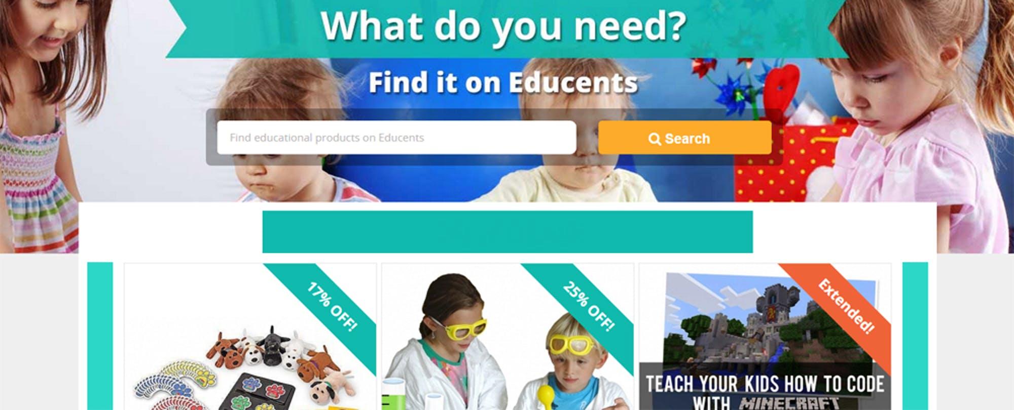 Dollars and Sense: Educents Raises $2.9M to Grow Instructional Materials Marketplace