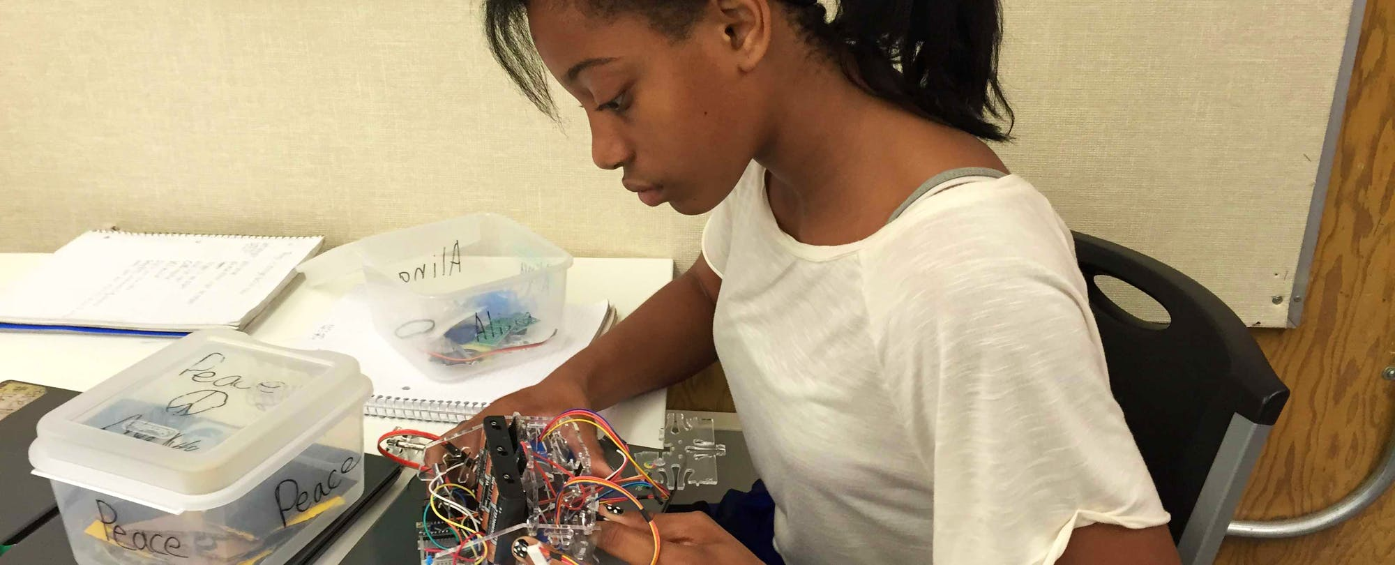 How Seventh Graders Can Learn (and Teach) Robotics