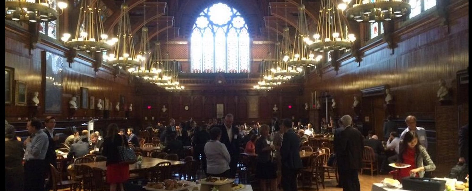 Edtech East Meets West in Harvard Yard