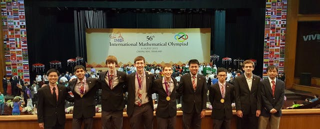 US Students Ace International Math Olympiad