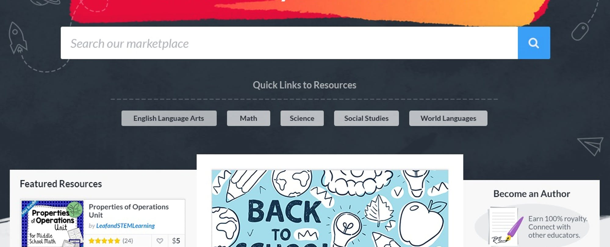 TES Online Marketplace for Teacher Materials Opens