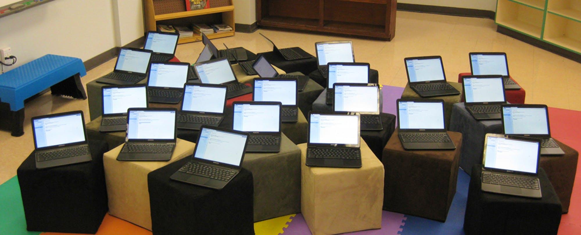 Google Chromebooks Make Up Nearly Half of All US K-12 Device Sales