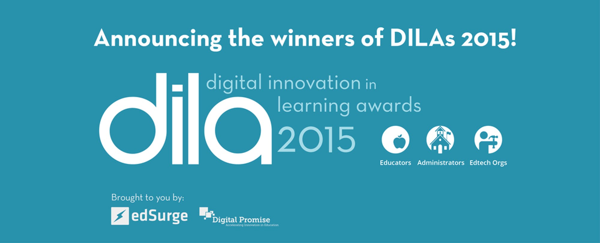 Announcing the Winners of the 2015 Digital Innovation in Learning Awards!