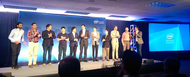 A Look Inside Intel Education Accelerator's First Demo Day