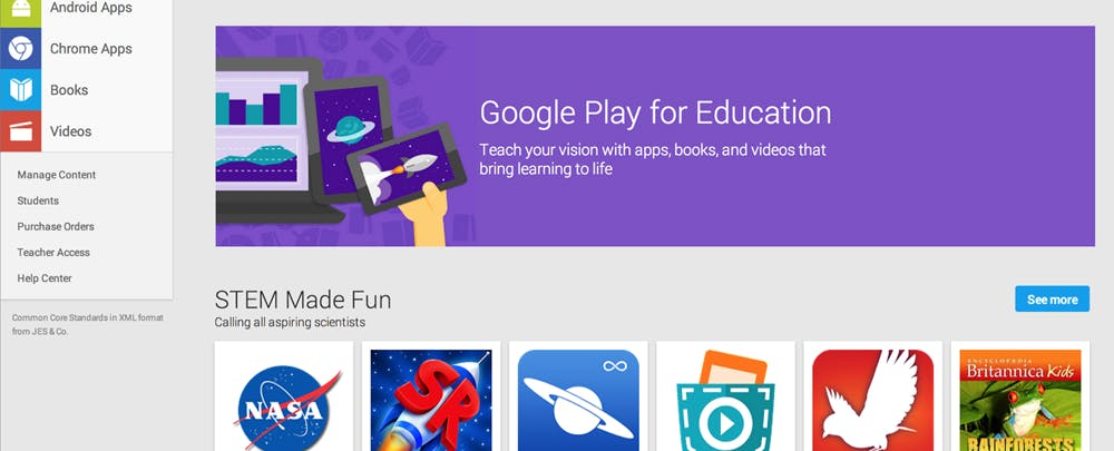 Google Play For Education Is Going Away