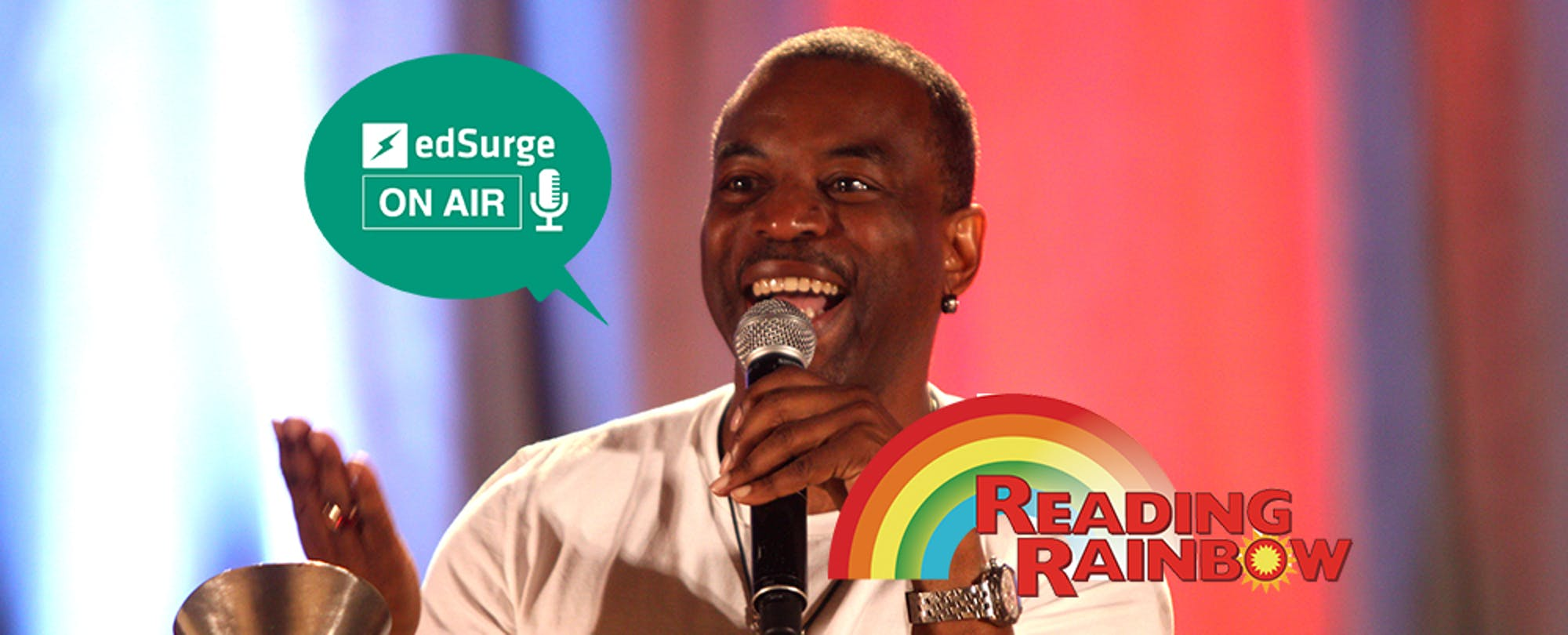 Reading Rainbow's LeVar Burton: Will Digital Books Replace Print?