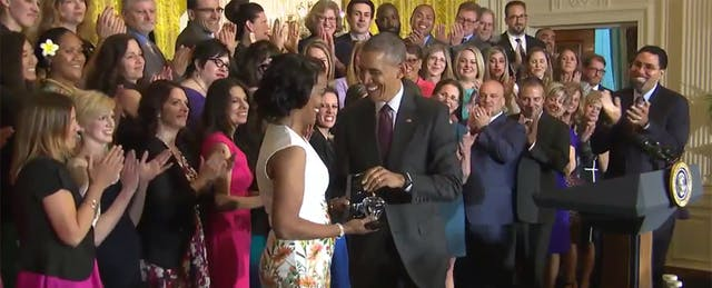 Barack Obama's Ode to Teaching and the 2016 National Teacher of the Year, Jahana Hayes