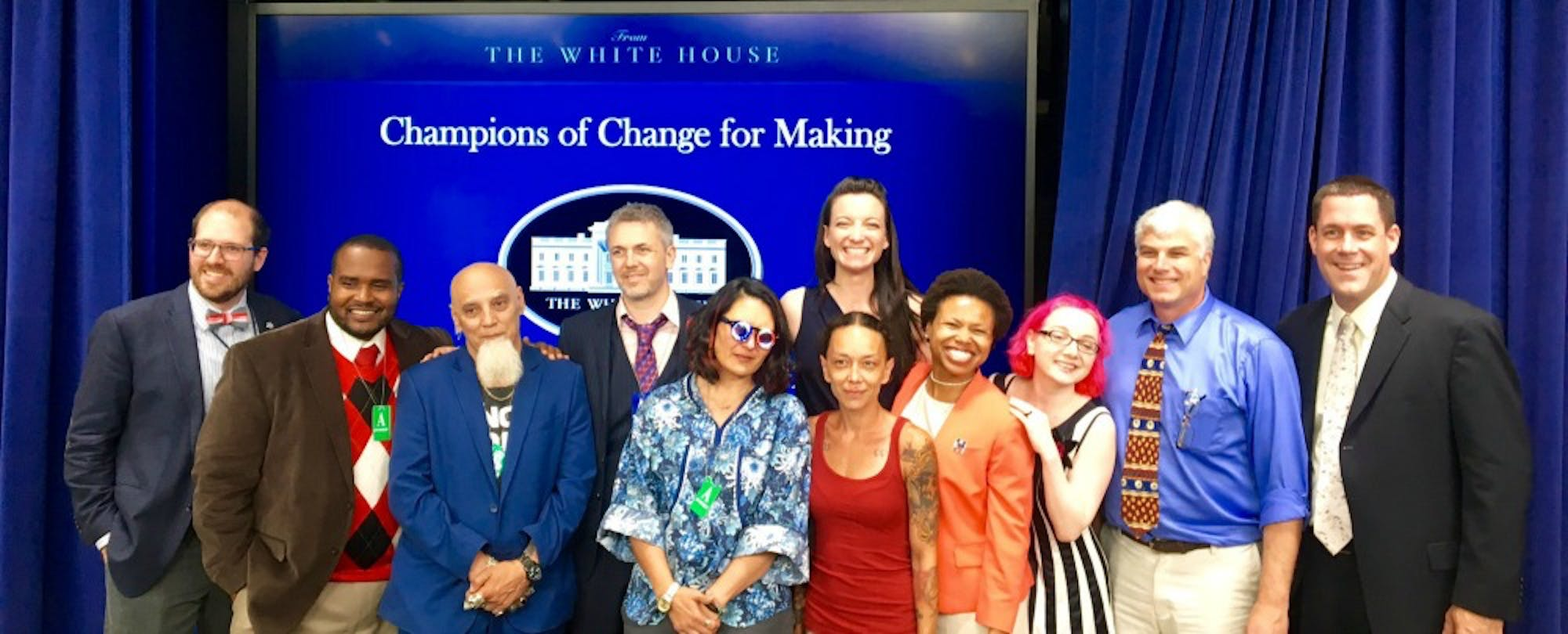 What Did You Make Today? White House Recognizes 10 Making Champions
