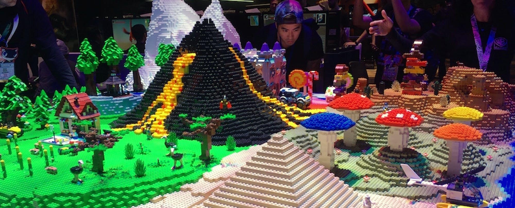 LEGO Worlds, Civilization VI and Gamer-Learner Testimonials: Education at E3