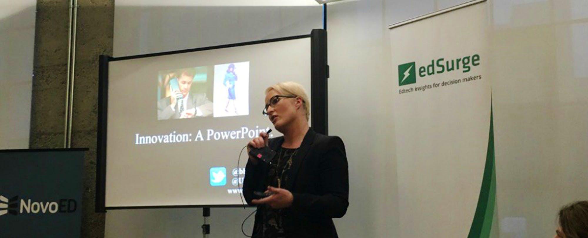 Bridget Burns' Call to Edtech Entrepreneurs:  'Start With Empathy'